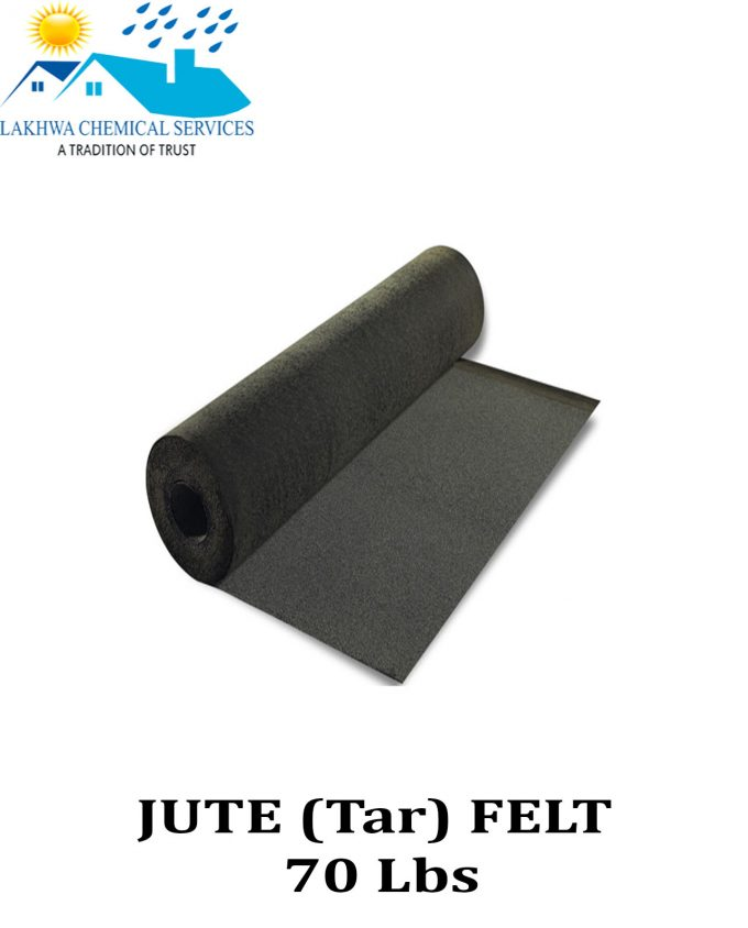 Jute Felt waterproofing membrane in Pakistan | Jute felt membrane in Karachi | Lakhwa chemical services