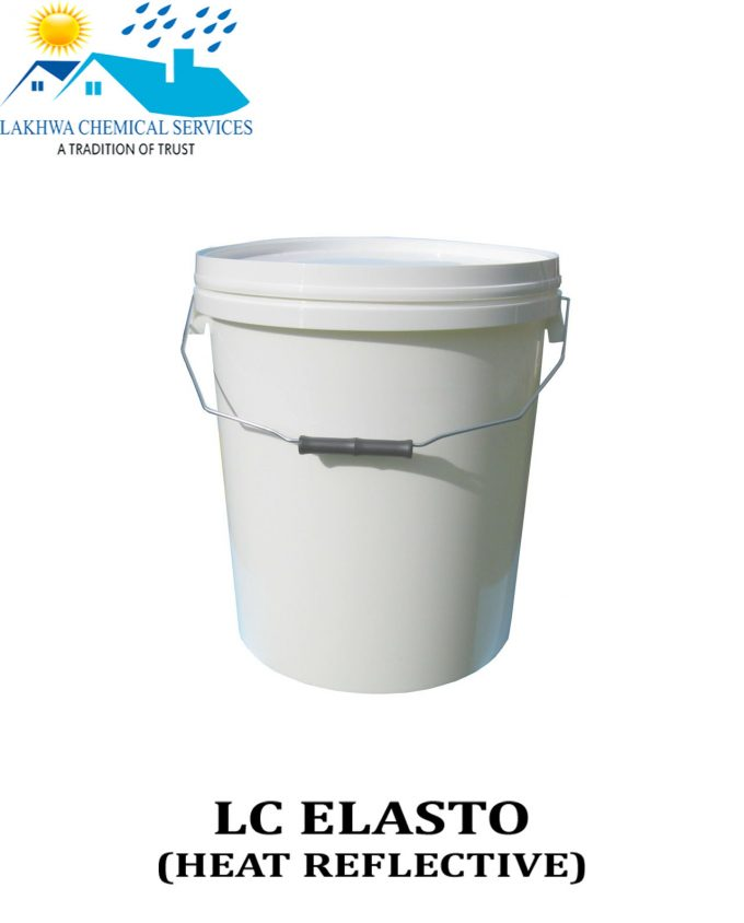 elasto reflective paint | roof proofing paint in pakistan | roof heat proofing in Karachi | lakhwa chemical services