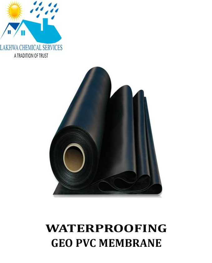 Waterproofing GEO PVC Membrane | PVC membrane in Pakistan | Waterproofing chemical in Karachi | Lakhwa Chemical Services