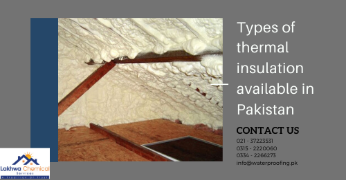 Types of thermal insulation available in Pakistan | heat insulation in karachi | lakhwa chemical services | heat insulation tiles in pakistan | heat insulation for roof | heat proofing in pakistan | heat insulation for roof in pakistan | heat resistant sheet in pakistan | thermal insulation chemicals | polyurethane foam spray in pakistan