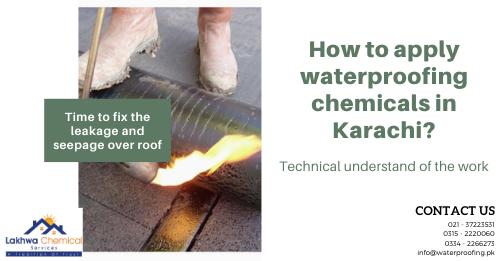 waterproofing chemical in karachi | roof waterproofing services | waterproofing price in pakistan | sbr chemical price in karachi | sbr chemical for waterproofing | lakhwa chemical services