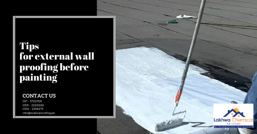 external wall proofing | waterproofing exterior walls products | waterproofing paint for exterior walls | waterproofing exterior brick walls | waterproofing exterior wood walls | lakhwa chemical services | sky chemical services
